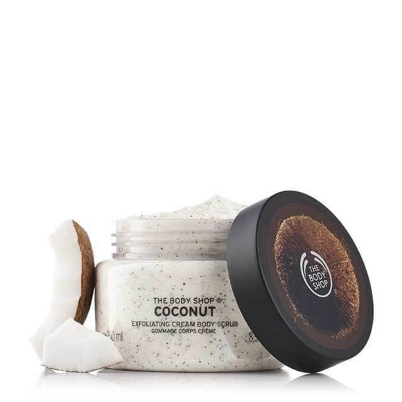 The Body Shop Other - NEW!  THE BODY SHOP COCONUT EXFOLIATING BODY SCRUB
